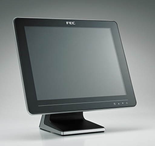 FEC AERTOUCH TOUCH MONITOR 15 LCD P/CAP STD BLK