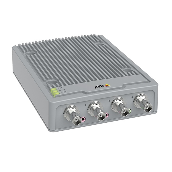 AXIS ENCODER P7304 4-CHANNEL 25FPS/CHANNEL POE