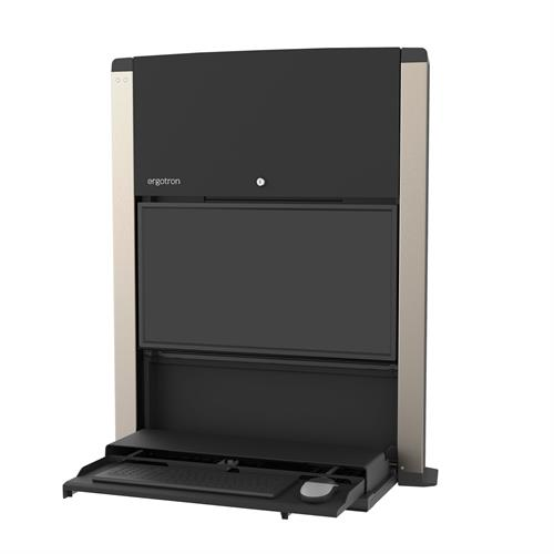 ERGOTRON CAREFIT 24IN SIT-STAND ENCLOSURE BLACK
