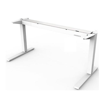 HUMANSCALE FLOAT TABLE BASE ONLY LARGE 800 MC WHI