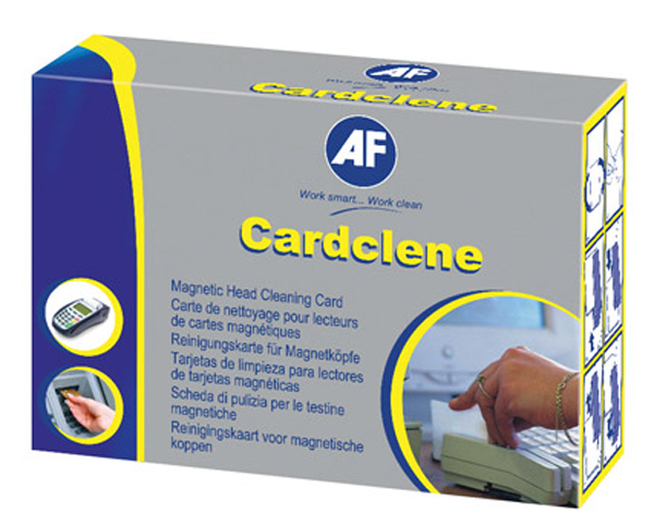 AF CLEANING KIT CARDCLENE PLAIN EFTPOS PK20