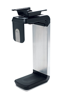 HUMANSCALE CPU HOLDER 200 W/SLIDING TRACK BLK