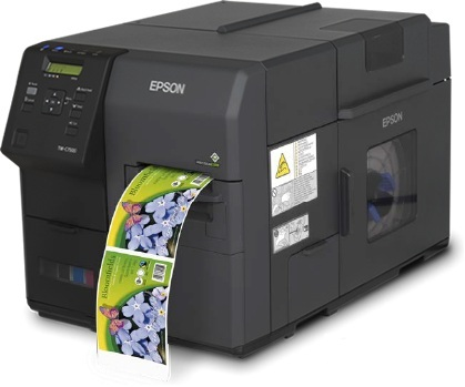 EPSON PRINTER TMC7500G W/TAKE-UP INKJET USB/ETH