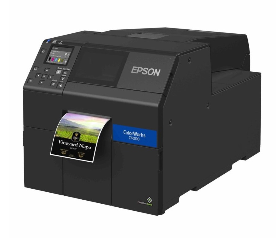 EPSON COLORWORKS CW-C6010A 4IN USB/ETH AUTOCUTTER