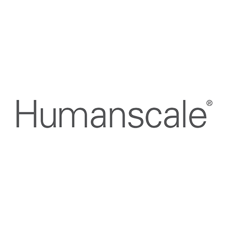 HUMANSCALE CHAIR FOOT RING 18 INCH BLK