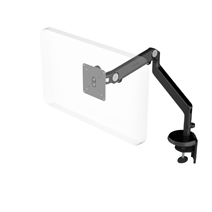 HUMANSCALE MONITOR ARM M2 LIGHT CLAMP BLACK IND