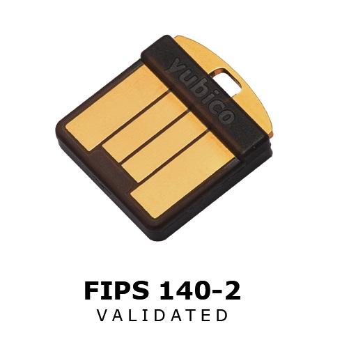 YUBICO YUBIKEY 140-2 FIPS NANO USB-A