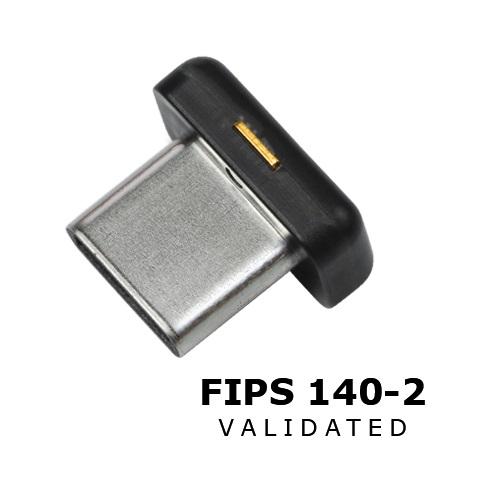 YUBICO YUBIKEY 140-2 FIPS C-NANO USB-C