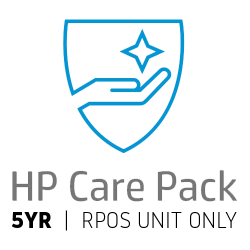 HP CAREPACK RPOS UNIT ONLY 5YR NBD ONSITE