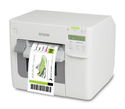 EPSON PRINTER TMC3500 INKJET COLOUR USB/ETH WHI