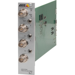 AXIS ENCODER P7224 4-CHANNEL BLADE 25FPS/CHANNEL