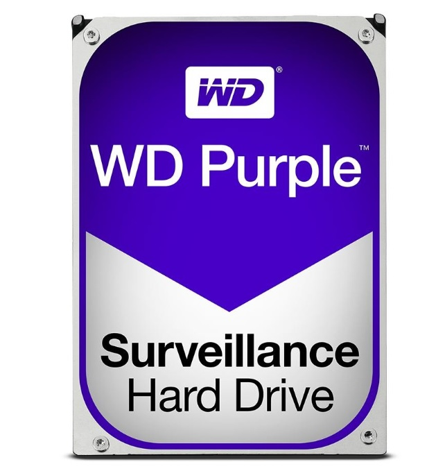 WESTERN DIGITAL PURPLE SURV HDD WD60PURZ - 6TB