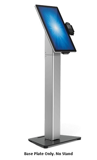 ELO SELF SERVICE STAND SLIM FLOOR BASE PLATE