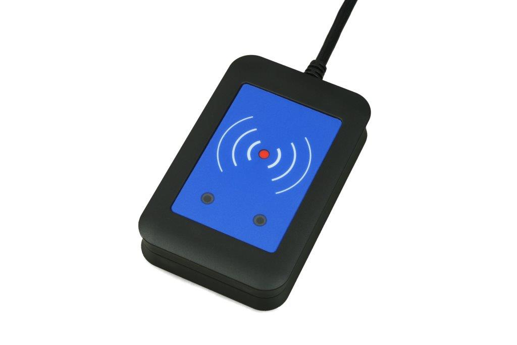 ELATEC TWN4 DESKTOP 13.56/NFC MULTI READER BLK