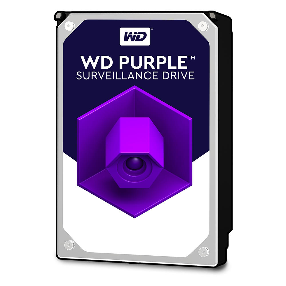 WESTERN DIGITAL PURPLE SURV HDD WD100PURZ - 10TB