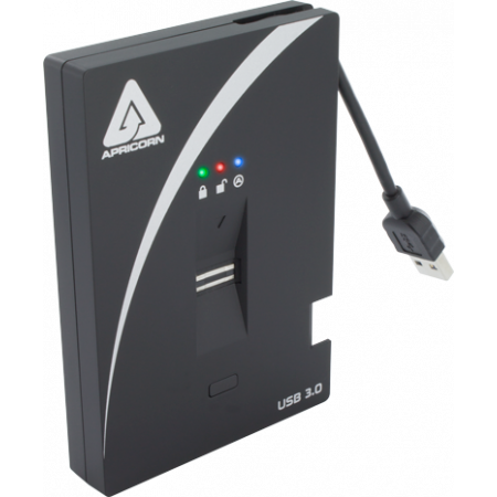APRICORN SECURE STORAGE AEGIS BIO3 500GB