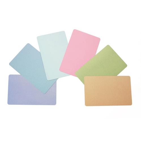CALIBOR BLANK CARDS PVC 30MIL 500/BOX GOLD