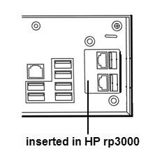 HP CARD POWERED USV 24V X 1 FOR RP3000