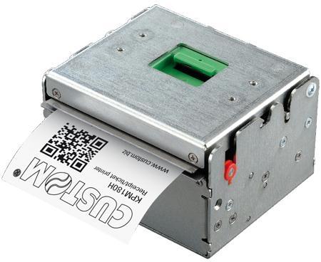 CUSTOM KPM180H KIOSK PRINTER ETHERNET/USB 24V AUTOCUTTER AEA