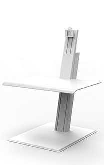 HUMANSCALE QUICKSTAND ECO SINGLE WHI